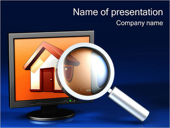 Search Real Estate PowerPoint Template