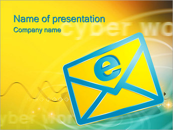 E-mail PowerPoint Template