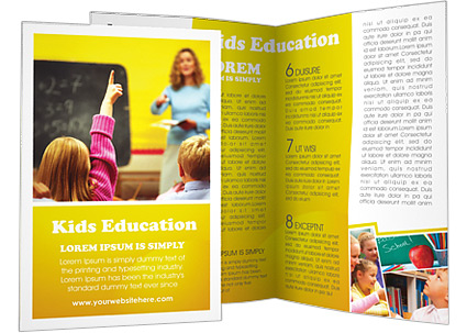 school brochure design templates - school education brochure template design id 0000000533