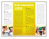School Education Brochure Template