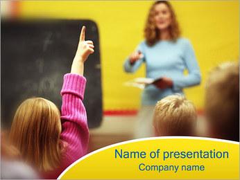 School Education PowerPoint Template