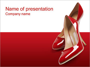 Shoes PowerPoint Template