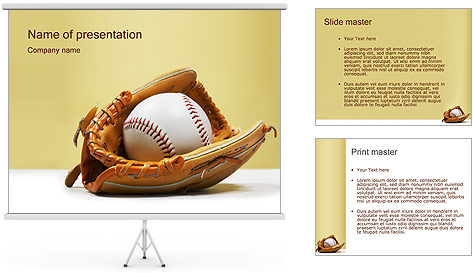 Baseball PowerPoint Template Backgrounds ID 0000000535 – Baseball Powerpoint Template
