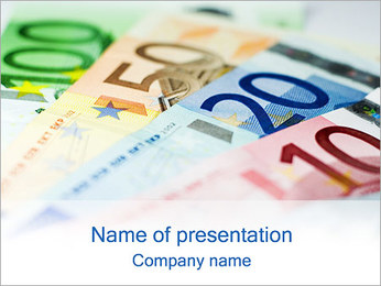 Euro Currency PowerPoint Template