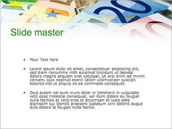 Euro devise Modèles des présentations  PowerPoint