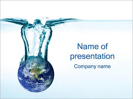 Водные ресурсы Шаблоны презентаций PowerPoint