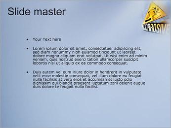Risque chimique Modèles des présentations  PowerPoint - Diapositives 2