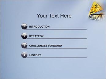 Risque chimique Modèles des présentations  PowerPoint - Diapositives 3