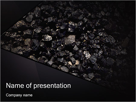 Coal powerpoint template backgrounds google slides id coal powerpoint template toneelgroepblik Image collections