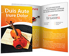 Violin Brochure Template