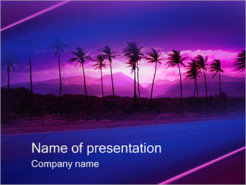Palms PowerPoint Template