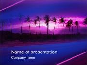 Palms Plantillas de Presentaciones PowerPoint