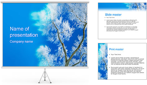 Winter PowerPoint Template Backgrounds ID 0000000556 – Winter Powerpoint Template