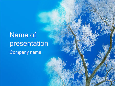 Winter Powerpoint Template  Backgrounds Id