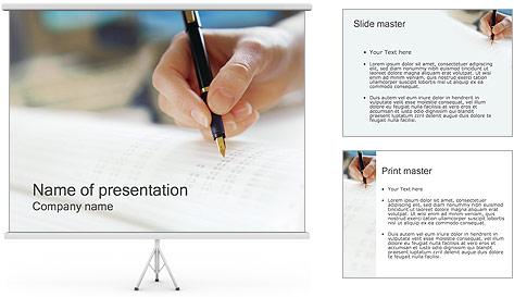 Accounting PowerPoint Template