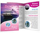 Liner Brochure Template