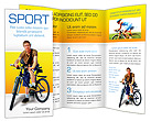 Bicycle Brochure Templates