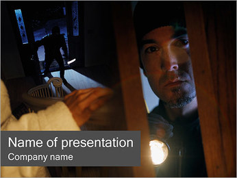 Robbery PowerPoint Template