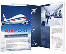 Airplane Brochure Templates