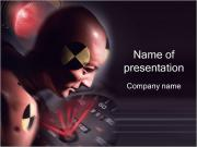 Crash Test PowerPoint presentationsmallar