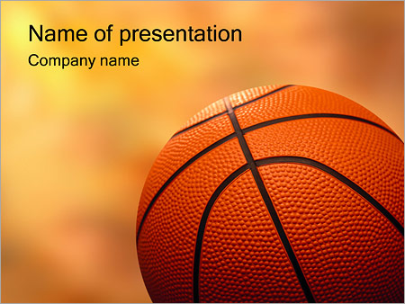 Basketball Powerpoint Template  Backgrounds Id