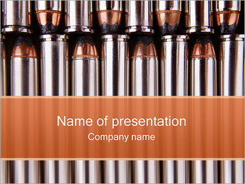 Ammunition PowerPoint Template