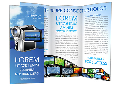 Digital Video Camera Brochure Template & Design Id 0000000576