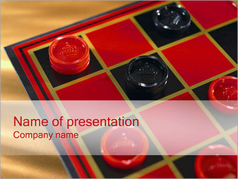 Checkers PowerPoint Template