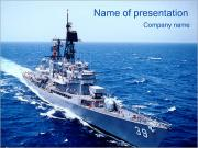 Military Vessel PowerPoint Templates