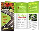 Autumn Road Brochure Templates
