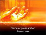 Рука Модель Шаблоны презентаций PowerPoint