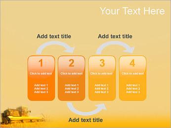 Champ de blé Modèles des présentations  PowerPoint - Diapositives 11