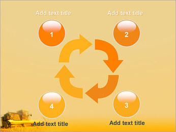 Champ de blé Modèles des présentations  PowerPoint - Diapositives 14