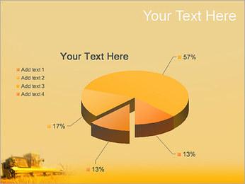 Champ de blé Modèles des présentations  PowerPoint - Diapositives 19