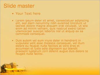 Champ de blé Modèles des présentations  PowerPoint - Diapositives 2