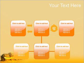 Champ de blé Modèles des présentations  PowerPoint - Diapositives 23