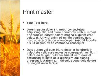 Champ de blé Modèles des présentations  PowerPoint - Diapositives 24