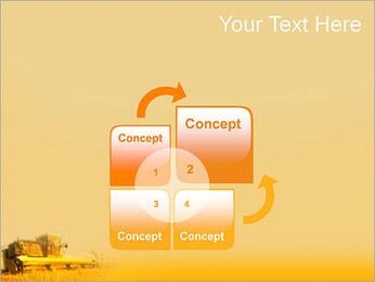 Champ de blé Modèles des présentations  PowerPoint - Diapositives 5
