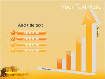 Champ de blé Modèles des présentations  PowerPoint - Diapositives 6