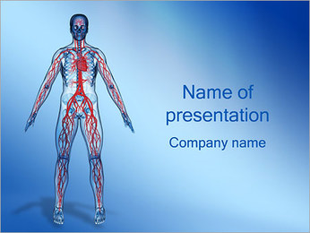 Blood Vessels PowerPoint Template