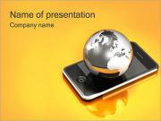 Global Communication Sjablonen PowerPoint presentaties