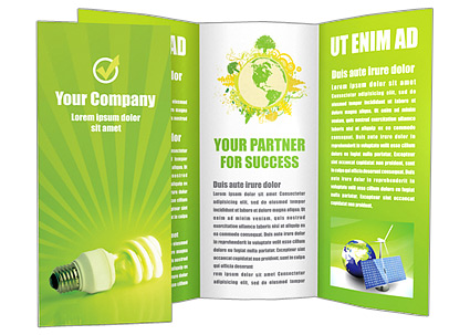 Alternative Technology Brochure Template  Design Id