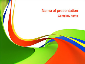 Abstract Shapes PowerPoint Template