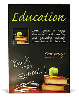 Back to school ad template design id 0000000602 smiletemplatescom for Smiletemplates