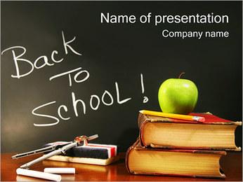 Regreso a la escuela Plantillas de Presentaciones PowerPoint