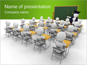 Educação Escolar Modelos de apresentações PowerPoint - Slide 1