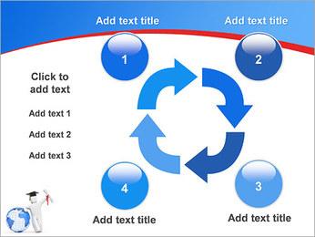 Diplomado Modelos de apresentações PowerPoint - Slide 14