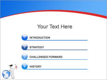 Diplomado Modelos de apresentações PowerPoint - Slide 3