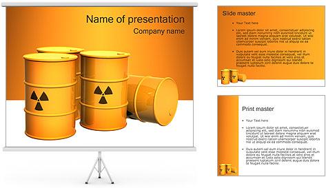 Déchets nucléaires Modèles des présentations  PowerPoint