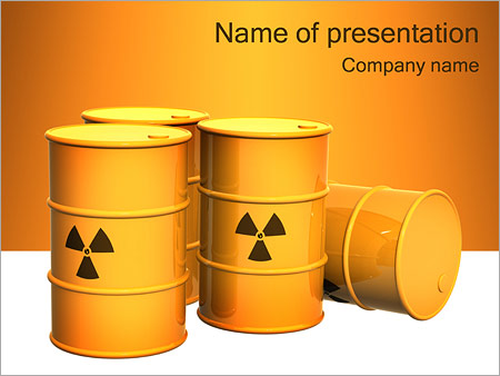 Nuclear waste powerpoint template backgrounds google slides id nuclear waste powerpoint template maxwellsz